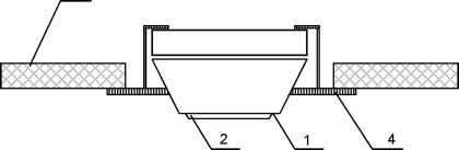 иногда, контроль пространства под подвесным потолком дип-34 делать