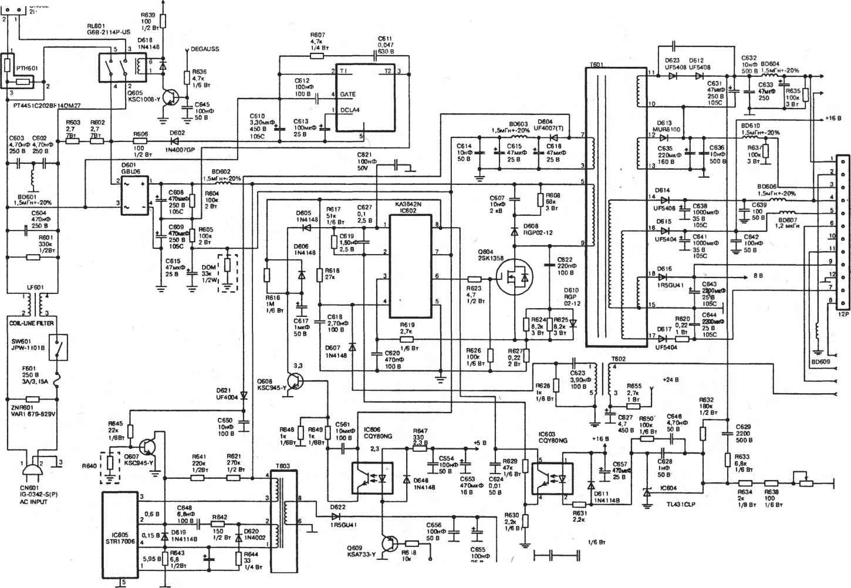 Принципиальная электрическая схема вольтметра рв-7-22а