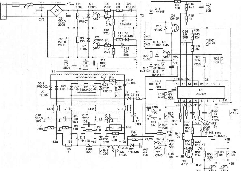 схема м300 микролаб
